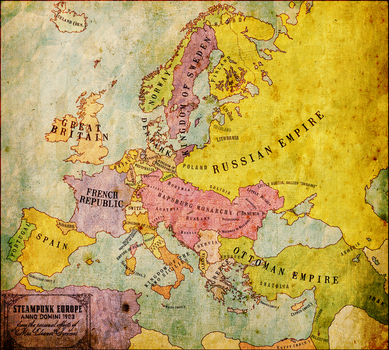 1903: Steampunk Europe by groenbjerg