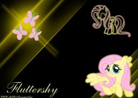 Fluttershy WP by MLR19