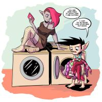 Laundry Day by Josh-Ulrich