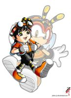 Charmy - Human form by 2ble-ZZ