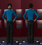 Haddock -Sims2- by great--SNAKES