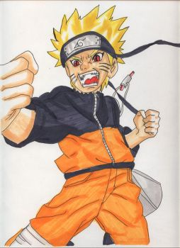naruto is pwning you by bebong