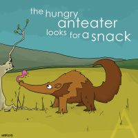 the hungry anteater by striffle