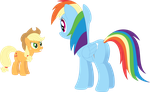Rainbow Dash, were you spying on me? by Porygon2z