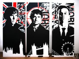 BBC Sherlock Trilogy by Arkarti