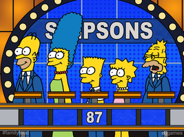 The Simpsons on Feud by DJgames