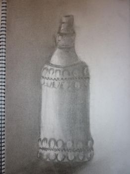 Charcoal Bottle by khrevolutions
