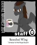 EFNW 2014 badge by scorchedwing