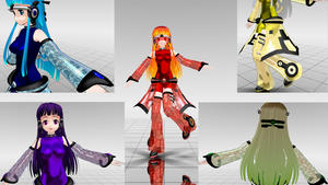[MOTME] Cyber Classical Japanese Elements by animejunkey54