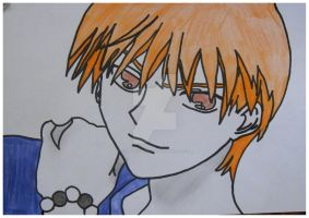 Kyo Sohma from Fruits Basket by CharleyCHEMICAL