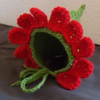 Flower Hat by Craftcove