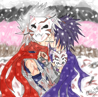 """Blood in the snow..."" by ilovemuffinsofdoom"