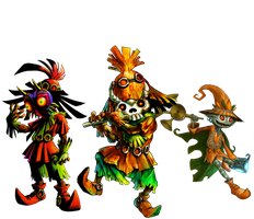The Skull Kid's Appearances by Legend-tony980