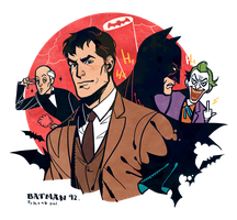 Batman the animated series 1992 by freestarisis