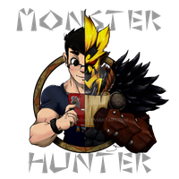 Monster Hunter Shirt Design by EatMyPanda