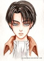 Corporal Levi Rivaille by silverlynx69