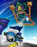 Meta Knight vs Yin Yarn by LaSpliten