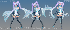 GSR Racing Vocaloid PM by chatterHEAD