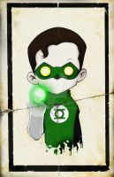 Green Lantern by UMINGA