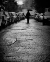 alone in the rain by hidlight