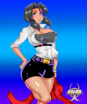 [GUNSMITH CATS] REQUEST Rally Vincent by RalDu