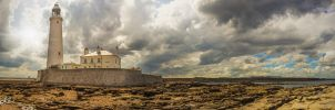 St Mary's Lighthouse, Northumberland by rephocus