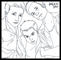Green Day by HermosaG