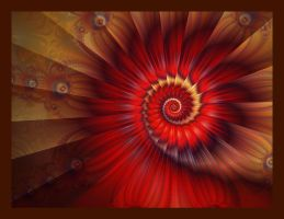 Red Spiral by Beesknees67