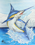 Marlin fish_close view -^w^- by wsache007