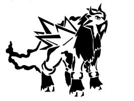 Entei tribal by awiede02