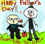 Happy Father's Day Meallard by minimoose1231