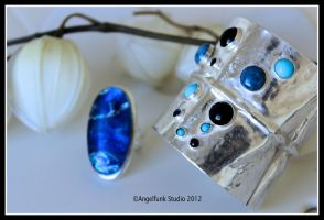 Gem Stone Blues - Other View by angelfunkstudio
