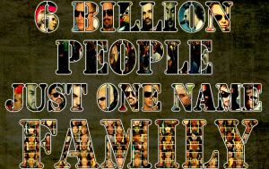 6Billion People Just One Name- by MissHeroes94