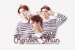 [291214] RENDER SEHUN [ BY YUIN ] by HunhanStyle