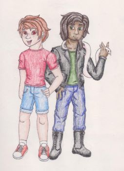 Mason and Daniel colored by Spyro-For-Life