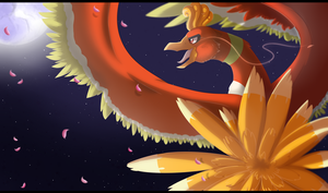 Ho Oh by BlueGriffyon