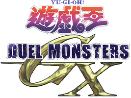 Yu-Gi-Oh! Duel Monsters GX Logo in English by Peetzaahhh2010