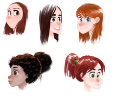 Heads by cury