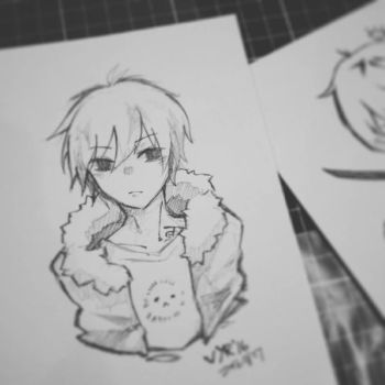 Traditional Pencil Art by Vyrhus
