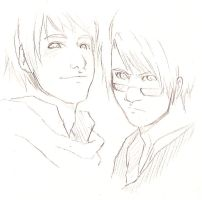Hetalia: Great Forces Sketch by invisikid