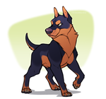 Severe dog by AidenMonster