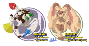 Sixth Gen Fakemon 16 (fake evolutions 1) by Blue-Paint-Sea