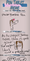 Pen Tablet Meme by ryllae