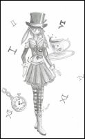 The Mad Hatter by kat-reverie