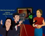 Tommy Wiseau's Reaction to Mark On NostalgiaCritic by AndrewSS23