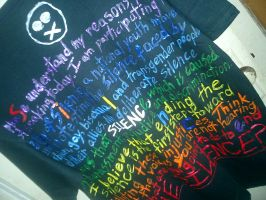 Day of Silence T-Shirt by ava-rey