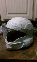 ODST helmet progress check 4 by EROCKERTORRES