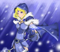 Crystal Maiden by EagerBeast