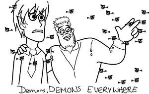 Demons. Demons Everywhere by Ryuuchan4