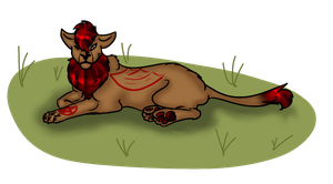 Lilith as Lion by Finsti